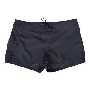 JAG Black Boardshorts Swim Cover-up Large